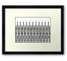 Oxbridge Framed Print