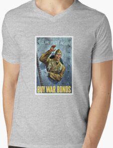 Till We Meet Again -- Buy War Bonds Mens V-Neck T-Shirt