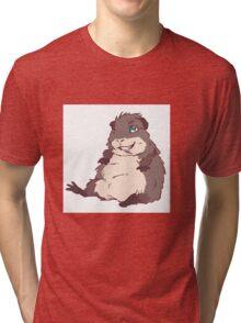 Lazy Guinea Pig Tri-blend T-Shirt