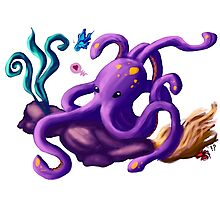 Octy the octopus Photographic Print