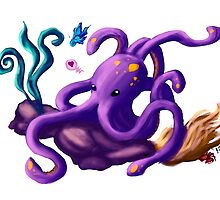 Octy the octopus by Hadeel