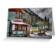 Hedley Trading Post Greeting Card