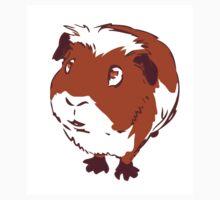 Curious Guinea Pig One Piece - Short Sleeve
