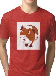Curious Guinea Pig Tri-blend T-Shirt