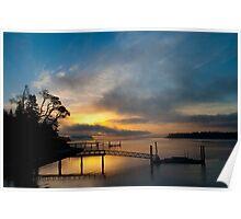 Gig Harbor Sunrise Poster
