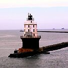 Delaware Bay lighthouse by dandefensor