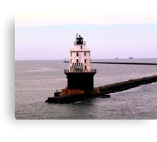 Delaware Bay lighthouse Canvas Print