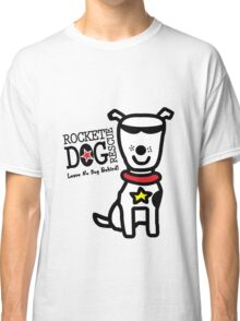 Rdr todd parr lrg dog white geek funny nerd Classic T-Shirt