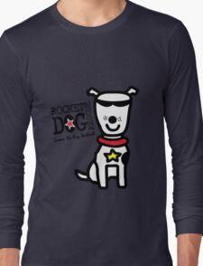 Rdr todd parr lrg dog white geek funny nerd Long Sleeve T-Shirt