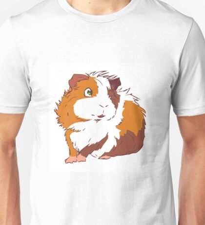 Friendly Guinea Pig Unisex T-Shirt