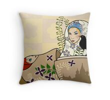 You were only waiting for this moment to be free Throw Pillow