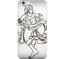 King playing Indian Instrument Dholak iPhone Case/Skin