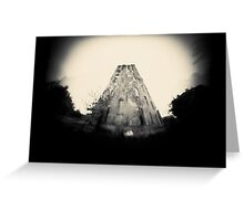 Mercury Tower Greeting Card