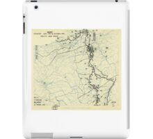 World War II Twelfth Army Group Situation Map October 15 1944 iPad Case/Skin