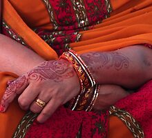 wedding guest- India by picketty