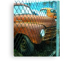 """Recycling Rust"" Canvas Print"