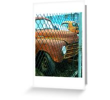"""""""Recycling Rust"""" Greeting Card"""