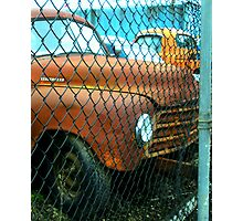 """Recycling Rust"" Photographic Print"