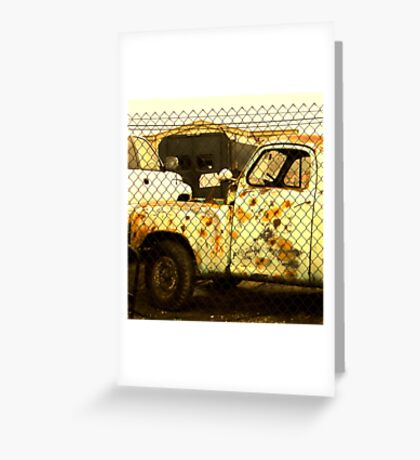 """Vehicle Acne"" Greeting Card"