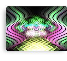 Kalanchoe Waves Canvas Print
