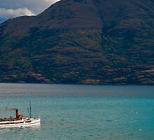 Steamship TSS Earnslaw - Queenstown New Zealand by Paul Gilbert