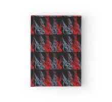 Red & Grey flames Hardcover Journal