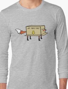 Fox Stuck in a Box Long Sleeve T-Shirt