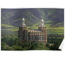 A Country Temple 20x30 Poster