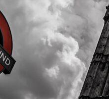 Big Ben vs Underground Sticker