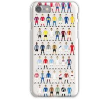Football Kits of the World iPhone Case/Skin