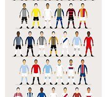 Football Kits of the World by footballfanart