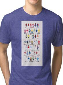 Football Kits of the World Tri-blend T-Shirt