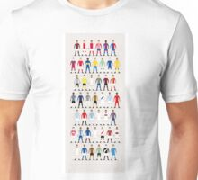 Football Kits of the World Unisex T-Shirt