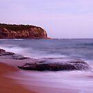 Turimetta Beach  after dark by Doug Cliff