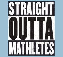 Straight Outta Mathletes Kids Clothes