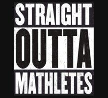 Straight Outta Mathletes Kids Tee