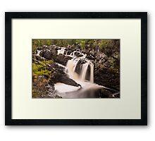 Rogie Falls, Nr Inverness, Scotland Framed Print
