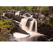 Rogie Falls, Nr Inverness, Scotland Photographic Print