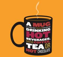 Illustrated Wikipedia - Mug by freshlysliced
