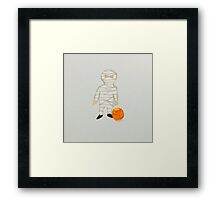 Toddies Halloween Trick or Treat Toddler Zombie Mummy Framed Print