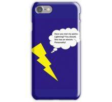 Lightning Pun iPhone Case/Skin
