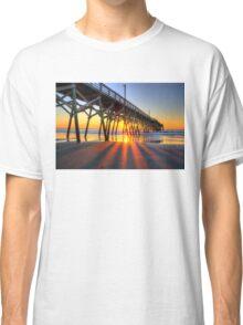 Surfside Beach Sunrays Classic T-Shirt