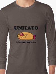 Unitato geek funny nerd Long Sleeve T-Shirt