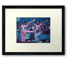 Midnight Blues Framed Print