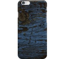 Eroded Blue Paint iPhone Case/Skin