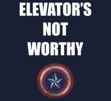 Elevator's Not Worthy... by Digitally