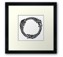 The Elder Scrolls logo Framed Print