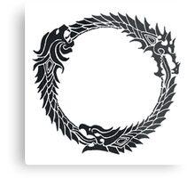 The Elder Scrolls logo Metal Print