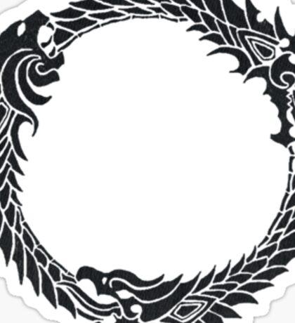 The Elder Scrolls logo Sticker