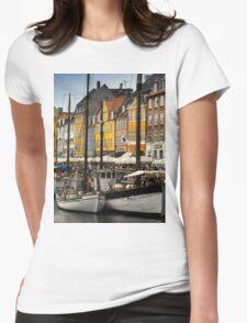 Nyhavn (Copenhagen) Womens Fitted T-Shirt